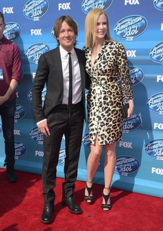 "Keith Urban Photos Photos - Keith Urban and Nicole Kidman attend the ""American Idol"" XIV Grand Finale event at the Dolby Theatre on May 13, 2015 in Hollywood, California. - 'American Idol' XIV Grand Finale - Arrivals"