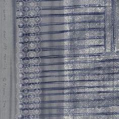 Nani Iro Kokka Japanese Fabric ori-some - beni kake-sorairo