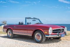 Restored 1970 Mercedes-Benz 280SL 4-Speed
