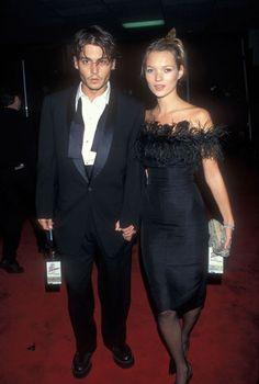 Kate Moss Dishes On Her Dreamy Relationship With Johnny Depp in US Vogue