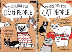 Gift Books for Pet Lovers: Doodling for Dog People and Cat People