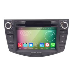 "Free shipping 7"" 2 Din Android Quad Core 1024*600 Car GPS Navigation For Toyota RAV4 2006 2007 2008 2009 2010 2011 DVD Player"