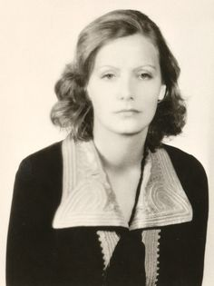 Greta Garbo, 1930.