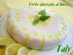 TORTA GLASSATA AL #limone