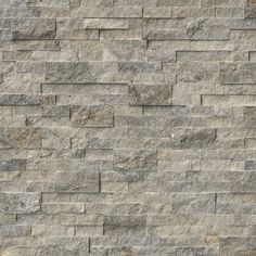 Order MS International Stone Siding - Travertine Silver Collection Silver / Ledgestone / / Travertine, delivered right to your door.