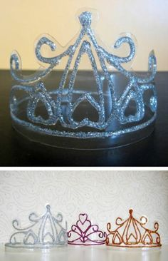crystal crowns genious out of plastic bottles