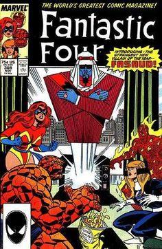 Fantastic Four #308 - Fasaud!