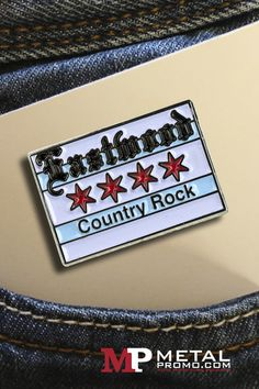 A beautiful example of Eastmund Country Rock pin. We always love seeing the final product ❤