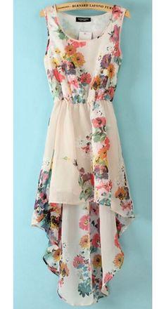CHIFON FLOWER DRESS