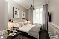 """BOUTIQUE HOTEL - """"IMAGINE APARTMENTS"""" - STAROWIŚLNA 4 KRAKÓW - Sypialnia, styl klasyczny - zdjęcie od MANGO Studio Architektury Wnętrz i Ogrodów"""