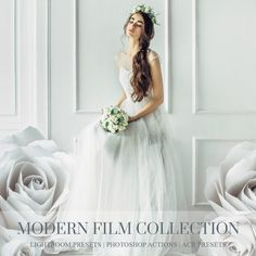 Modern Film Collection for Lightroom and Photoshop provides film-inspired colors, perfect light enhancement, and wonderful skin tones. From the gorgeous pastels of popular wedding photography to intense cinematic colors, these presets are created to give your pictures a polished look all on their own. These film emulation will streamline your workflow and produce beautiful results.