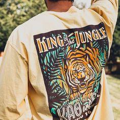 Kappa Alpha Order Jungle Mixer Shirt | Fraternity Event | Greek Event #kappaalphaorder #kappaalpha #theorder #ka Kappa Alpha Order, Greek Life, Mixers, Fraternity, Chair, Shirts, Style, Swag, Stool