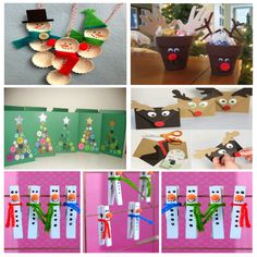 Bonitas manualidades de Navidad fáciles de hacer para niños Crafts For Kids, Holiday Decor, Ideas, Blog, Home Decor, World, Toddler Christmas Crafts, Christmas Activities, Preschool Crafts