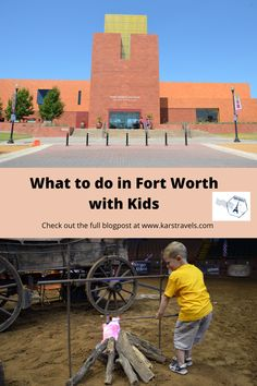 Fort Worth is such a fun city to visit with kids. There's plenty to do for all ages. In this blog we hightlight what to in Fort Worth with kids. Fort Worth Museum, Fort Worth Zoo, Texas Travel, Travel Usa, Canada Travel, Travel Guides, Travel Tips, Travel Info, Travel Destinations
