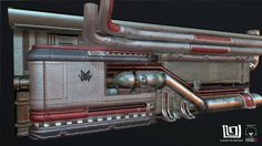 ArtStation - Modular Sci-Fi Wall - Texture tile from preview project*, Guilherme Rambelli