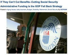 """Politically, this effort is a continuation of a decades-long campaign to diminish successful government programs which, since the vast majority of the American public of both parties supports them, can't be killed outright."" via Entitled to Know. (click through to read more) #SocialSecurity"
