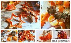Skórki z pomarańczy - pomysł na dekoracje - Kobieceinspiracje.pl