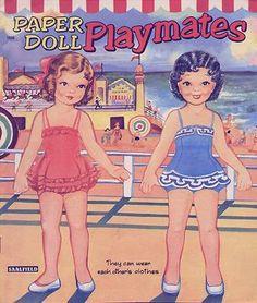 PLAYMATES paper dolls 1955 .I Got This From Ebay – MaryAnn – Picasa Nettalbum
