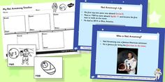 This Neil Armstrong teaching pack contains fun and engaging activities to keep your child entertained as they learn about the first man to walk the moon. Who Is Neil Armstrong, Ks2 Science, Teaching Packs, Cc Cycle 3, Space Activities, Primary Resources, Classroom Behavior, Nonfiction, Space Planets
