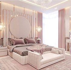 Modern Luxury Bedroom, Luxury Bedroom Design, Bedroom Furniture Design, Room Ideas Bedroom, Home Room Design, Master Bedroom Design, Luxurious Bedrooms, Home Decor Bedroom, Luxury Bedrooms