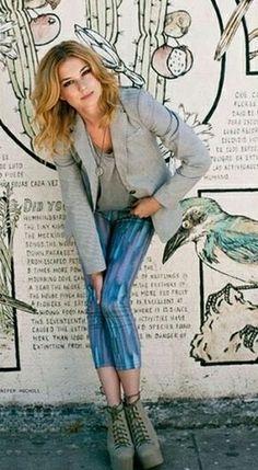 Emily VanCamp was spotted wearing Jeffrey Campbell Lita Ankle Booties in Nylon. Amandine Henry, Jurnee Smollett, Emily Vancamp, Sienna Miller, Bella Thorne, Margot Robbie, Celebs, Celebrities, Autumn Winter Fashion