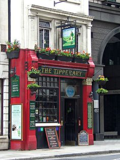 The Tipperary, 66 Fleet Street, London, England