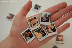 Diary of a Crafty Lady: Mini Polaroid Magnets
