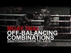 Muay Thai: 4 Off-Balancing Combinations! Muay Thai Techniques, Self Defense Techniques, Boxing Drills, Muay Thai Training, Martial Arts Workout, Mixed Martial Arts, Judo, Kickboxing, Jiu Jitsu
