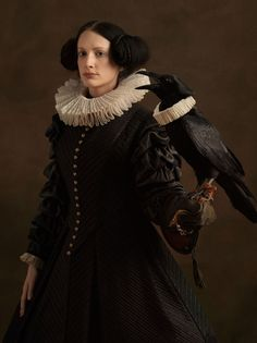 Sacha Goldberger is the man behind this project who creates an amazing photography of Male and Female portraits dressed in old dutch civilization fashion.
