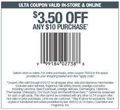 ulta salon haircut coupons 5 a haircut from supercuts via the coupons app 2887