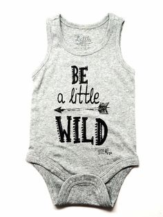 "Infant ""Little Wild"" Tank Onesie – Little Adi + Co."