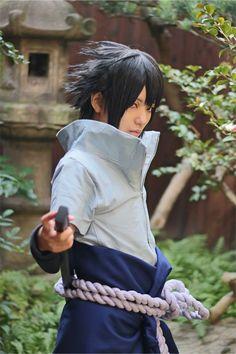 Sasuke Uchiha Cosplay, Itachi, Sasuke Uchiha Shippuden, Boruto, Best Cosplay, Anime Cosplay, Naruto Series, Costumes For Women, Cosplay Costumes