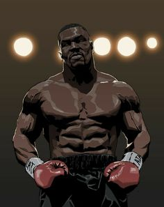 this is my favorite boxer mike tyson Boxe Mma, Boxe Fight, Mike Tyson Boxing, Boxing Images, Boxing Posters, Movie Posters, Dope Cartoon Art, Black Art Pictures, Hip Hop Art