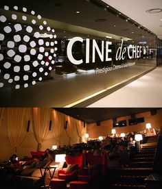 The Cine de Chef, a 30-seat luxury cinema and Italian restaurant, will offer you VIP treatment with your film.