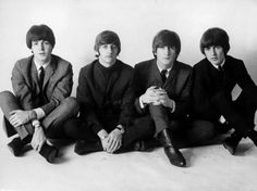 Paul, Ringo, John and George...The Beatles.