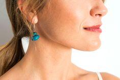 Blauwe oorbellen | Veritas BE