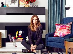 Home Tour: Chiara Ferragni's Pop-Chic Los Angeles Home: The face behind popular fashion blog The Blonde Salad gives her home a gorgeous transformation. via @domainehome