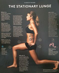 How To Do a Proper Lunge