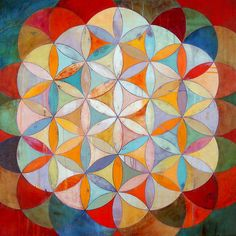 Geometric paintings by James Wyper.