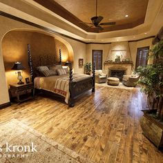 Ultimate Rustic Bedroom Photo
