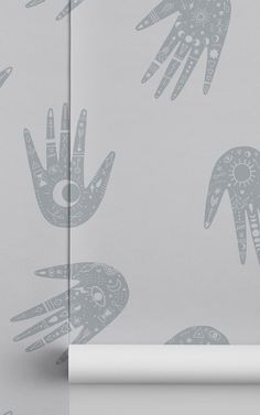 Create a unique and intriguing feature wall with a hint of cosmic detail with the Grey Hand Pattern Cosmic Symbols Repeat Pattern Wallpaper. This bespoke design takes inspiration from all things mystical, with stylish detailing related to palm reading and zodiacs, a hand wallpaper that will be sure to add a bespoke feel. Introduce this creative design to your living room, bedroom or maybe your young child or teen would love this mesmerising design to revitalise their space. Hand Wallpaper, World Map Wallpaper, How To Hang Wallpaper, Normal Wallpaper, Forest Wallpaper, Grey Wallpaper, Adhesive Wallpaper, Photo Wallpaper, Pattern Wallpaper