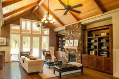20 Gorgeous Craftsman Home Plan Designs Craftsman Home Plans 22157AA The Ashby  | The inside of this Craftsman lodge is sure to stun, offering bonus rooms, storage space, built-ins, three car garge and more!.