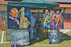 Oil painting exhibit at San Felipe Blues and Arts Fiesta March 28th, 2014 #sanfelipe #sanfelipebluesandarts
