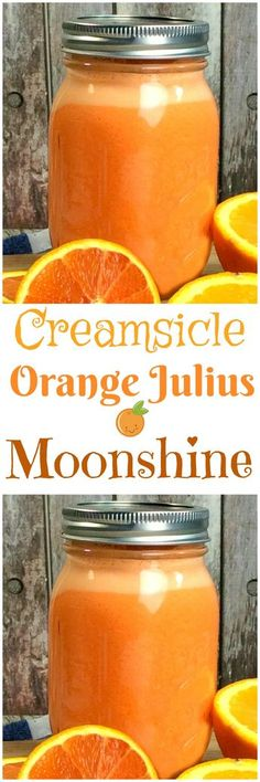 Are you searching for recipes that use oranges? Everything from orange creamsicle smoothies to chocolate orange brownies can be found inside. Enjoy these 40 delightful orange recipes. Party Drinks, Cocktail Drinks, Fun Drinks, Cocktail Recipes, Alcoholic Drinks, Beverages, Liquor Drinks, Bourbon Drinks, Moonshine Cocktails