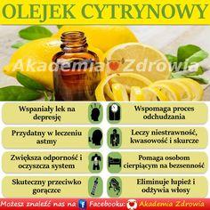 Korzyści zdrowotne olejku cytrynowego - Zdrowe poradniki
