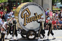 Purdue Band - Biggest Drum in the World