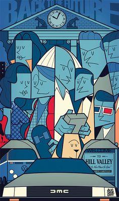 New Pop Culture Illustrations by Ale Giorgini