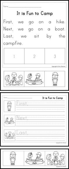 Sequencing Worksheets Short Story Sequencing Cut Paste