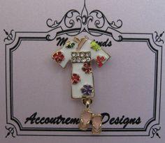 Accoutrement Designs Kimono Zori Needle Minder Magnet  #AccoutrementDesigns