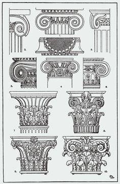 Orna128-Saulenkapitaele - Category:Meyer's Ornament - Wikimedia Commons